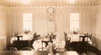 Boarding House dining room