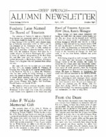 DS Alumni Newsletter April 1969