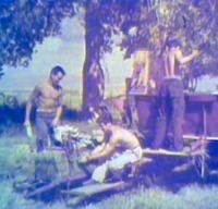 Farm equipment, mid-1940s