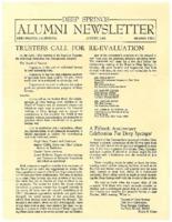 DS Alumni Newsletter August 1966