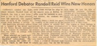 Randall Reid pre-DS newspaper article