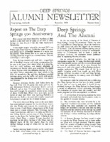 DS Alumni Newsletter September 1968