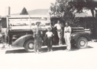 Holloway family and 1948 Ford