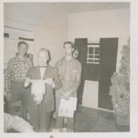 Staff at Christmas 1961