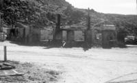 Garage fire 1975 (3 images)