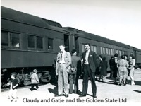 Claudy and Gatje and the Golden State Limited