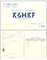 QSO postcard