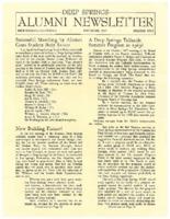 DS Alumni Newsletter December 1967