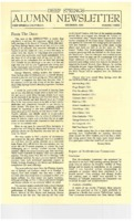 DS Alumni Newsletter December 1966